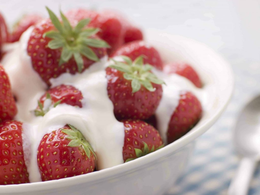 Strawberry Cream Nic Salt E-Juice by Holy Cannoli
